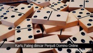 Kartu Paling diincar Penjudi Domino Online